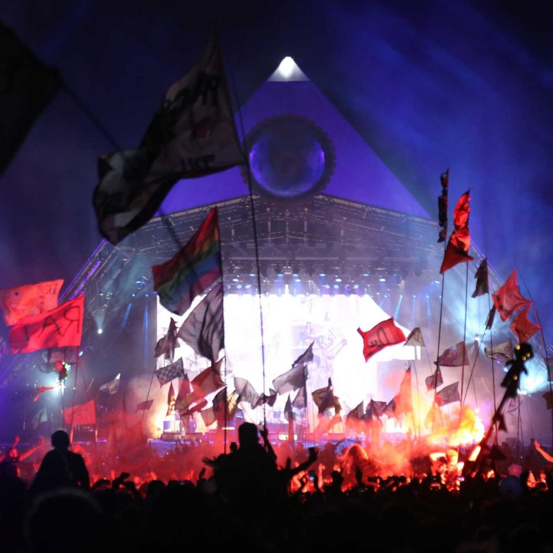 Glastonbury - Pyramid stage